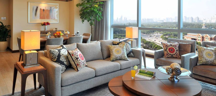 Newly renovated serviced apartment in Pudong