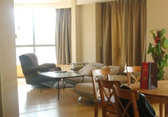 Nice duplex in Jingan district,with big terrace