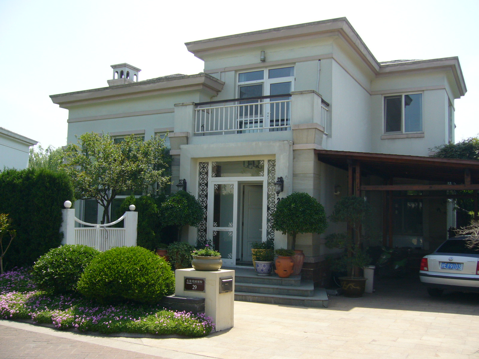 Nice Villa in Qing Pu District